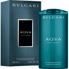 Гель-душ и шампунь Bvlgari Aqva Pour Homme