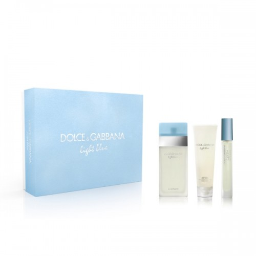 Набор парфюмерии Dolce & Gabbana Light Blue for women set
