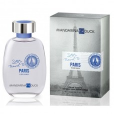 Mandarina Duck let's travel to Paris for man
