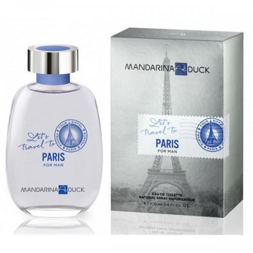 Mandarina Duck let's travel to Paris for man
