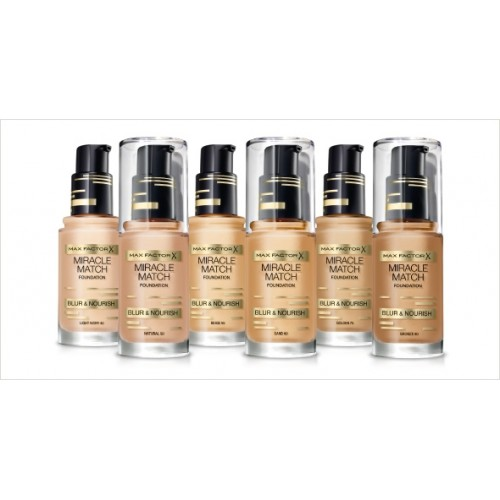 Тональная основа Max Factor Miracle Match foundation 30ml