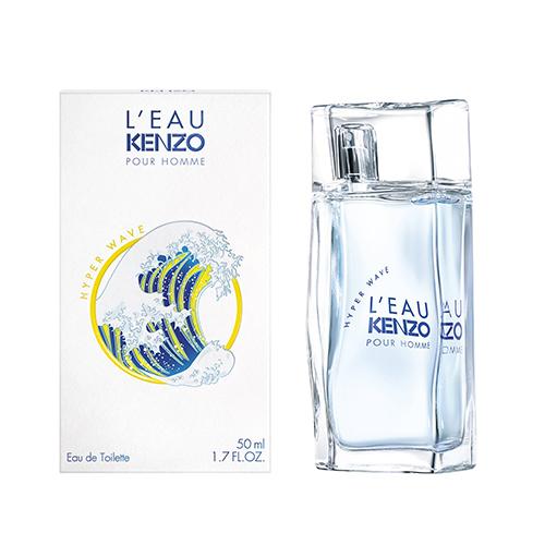 Kenzo L'eau hyper wave pour homme