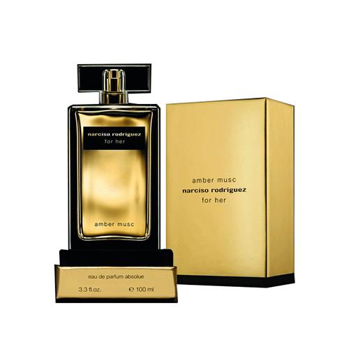 Narciso Rodriguez Amber Musk for her eau de parfum absolu