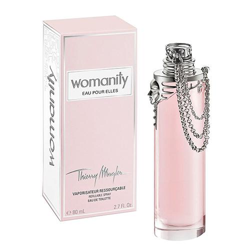 Womanity Eau Pour Elles от Thierry Mugler
